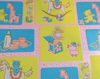 Baby craft paper wrapping paper
