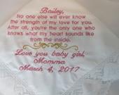 Wedding Handkerchief for ...