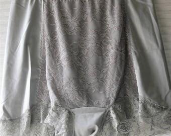gray boxer panties  size plus size 2x