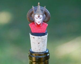Princess Amidala Wine Bottle Stopper Star Wars Bust