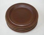 Arabia Finland RUSKA Ulla Procope - Set of 4 Bread / Side Plates