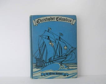 Columbus Exploration, Child's Biography, American History for Primary Grades, Illustrated, Edna Potter