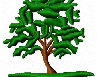 Tree Embroidery Design - Instant Download
