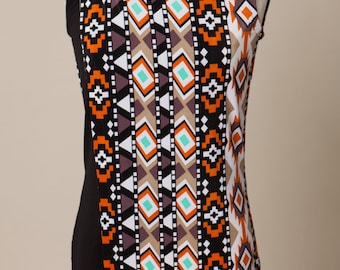 Tribal, Alien, Aztec, Extraterrestrial, Nursing Top, Maternity, Hip Mom, Mother, New Mother, Knit Top, Wrap shirt~ Everything has Grown