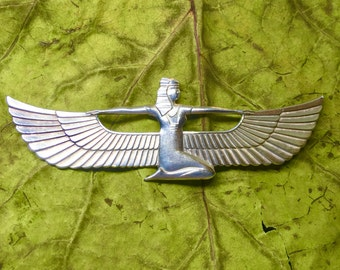 Egyptian Goddess Brooch