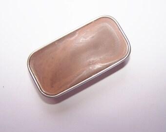 Zero Waste Vegan Lipstick - Fawn  Mineral Lip Color - Lipstick In A Tin - Vegan Mineral Makeup -  Cruelty Free Cosmetics