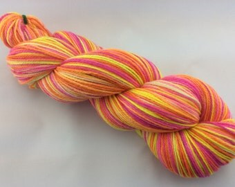 Groovy - Hearthside Fibers BaaBoo - Superwash Merino/Bamboo/Nylon Hand Dyed Sock Yarn