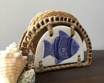 Vintage Fish Coaster Set