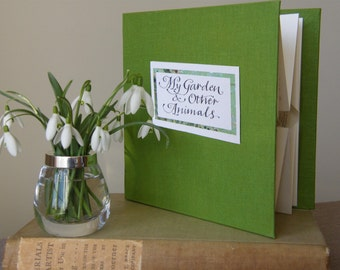 My Garden and other Animals - a limited edition pop-up artist's book