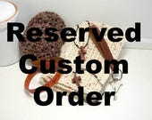 Custom leather bracelets & keychains