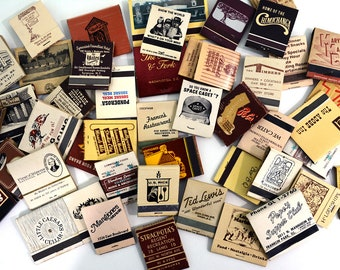 45 Brown, Beige, Off White Matchbooks Lot