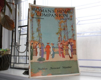 Antique Woman's Home Companion Magazine September 1914
