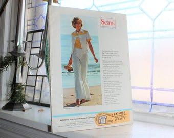 Vintage 1974 Sears Summer Catalog