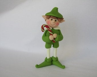 Polymer Clay Christmas Elf