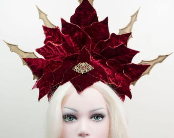 Vampire priestess headdress - one of a kind