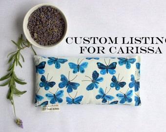 Custom Listing - 7 X Lavender and Flax Seed Eye Pillows