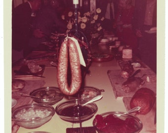 Guest of Honor Vintage still life art Photography vernacular photo snapshot odd strange Life of the Party