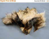Pre Winter Sale Arctic Store® RACCOON Face Fur Scraps Totem Fur Supplies RF1513 Arktika Russia