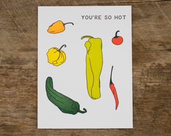 Hot Pepper Card