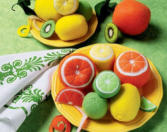 Felt Fruit Pattern-McCalls