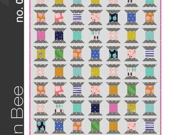 Green Bee Sewing Patterns - The Spools Quilt Pattern by Alexia Abegg