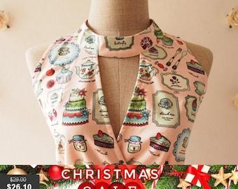Christmas SALE CLEARANCE - Tea Dress Cute Summer Dress Pink Party Dress High Neck Dress Vintage Retro Dress Bridesmaid Dress - Size L