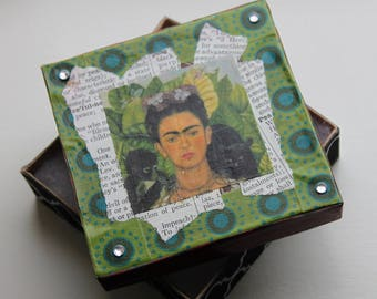 Frida Kahlo Mixed Media Gift Box
