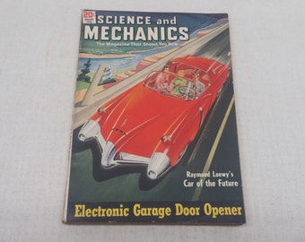 Science and Mechanics August 1950 - Great Condition - Fascinating Articles and Hundreds of Vintage Advertisements