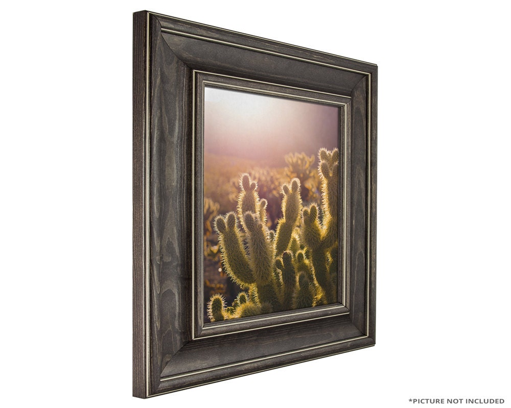 Craig Frames 24x36 Inch Charcoal Brown Picture Frame