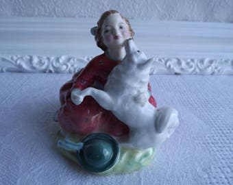 Vintage Royal Dalton Home Again Figurine HN 2467 Circa 1967