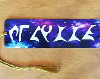 Your Name in Klingon Star Trek Personalised Bookmark