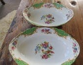 One Paragon 'Rockingham' vintage china serving bowl