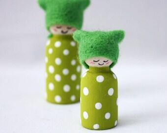 Spots Miniature Cornish Pixie Elf Set
