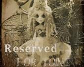 Reserved Listing         Monster High Doll Custom Pink Valentines