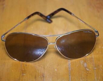 Vintage Authentic Cole Haan Aviator Sunglasses