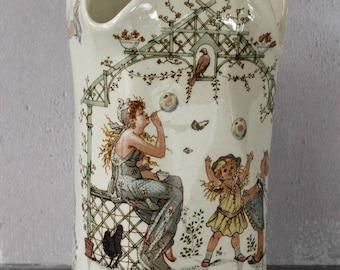 Easter gift etsy french antique porcelain vaserregumines potteryeaster gift negle Gallery