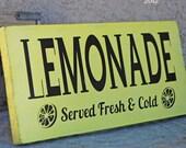 HUGE SALE Lemonade - Summer - Fresh and Cold - Kitchen
