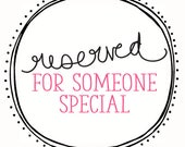 Reserved Listing for mommy47