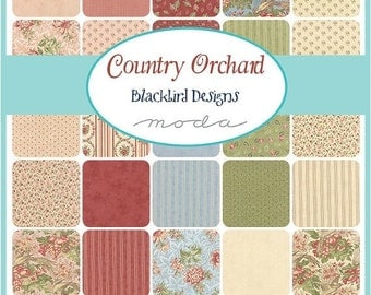 SALE Country Orchard Layer Cake by Blackbird Designs for Moda - One Layer Cake - 2750LC