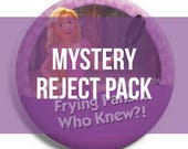 Reject Mystery Pack of 12 Parkbound Buttons