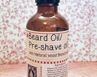 Pre Shave Beard Oil Holiday Scents Black Friday Cyber Monday Small Business Saturday Christmas