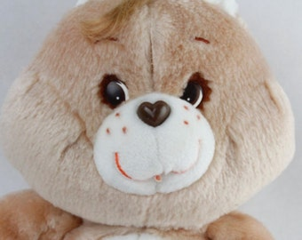 """Vtg Kenner 1984 Care Bears 13"""" TENDER HEART Bear Plush Stuffed Animal Original"""