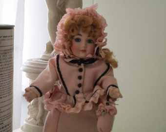 SALE.....Vintage Victorian All Porcelain Doll, Doll Collector, Baby Girl, 1/2 OFF!!!!!!