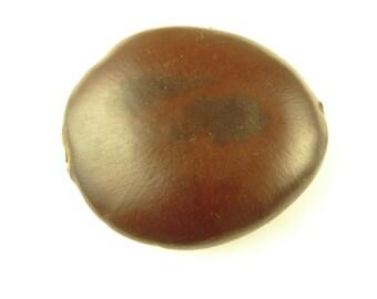 large 60 mm focal tribal ethnic seed pod pendant bead African trade AJ-0009