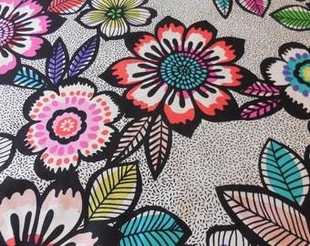 Acapulco / Black Bright - Alexander Henry Fabric 1 Yard