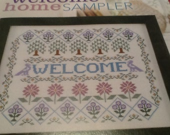 C- Welcome Home Sampler - Cross Stitch Pattern Only