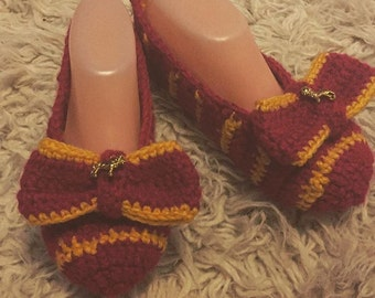 Hogwarts House Slippers