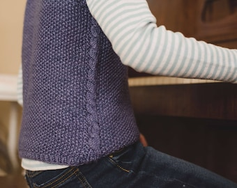 Filey Vest (knitting pattern)