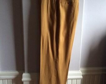 1960's Men's Vintage Trouser / Mad Men Style Trousers / 60's Mens Dress Pants
