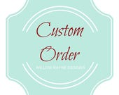 Custom listing for Charleen